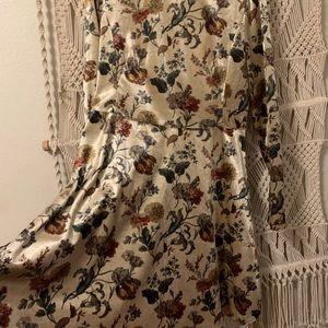 Beautiful velvet dress from Zara